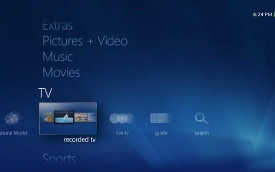 Consigue Windows Media Center para tu Windows 8 Pro