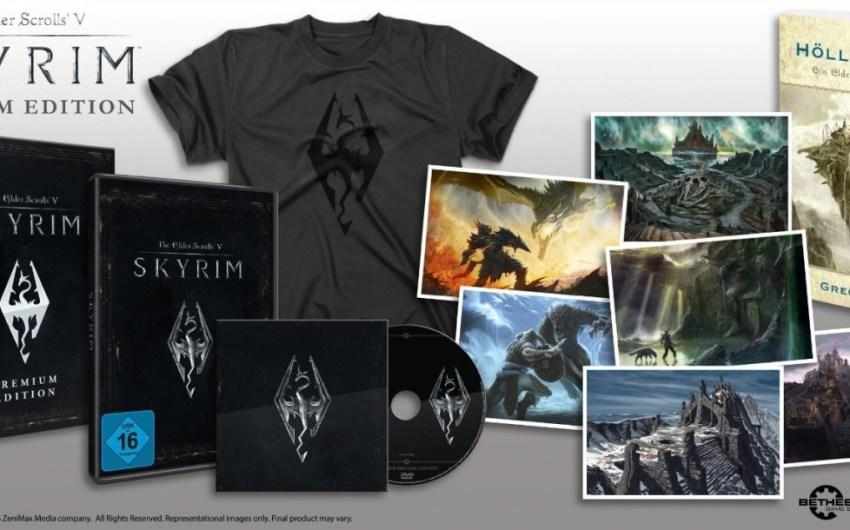 Se filtra edición Premium de The Elder Scrolls V: Skyrim por Amazon.