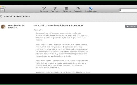 iTunes 11 Finalmente llegó!
