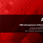 AMD anuncia Heterogeneous Uniform Memory Access (hUMA).