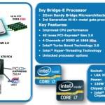 Los procesadores Ivy Bridge-E serán lanzados en septiembre según nuevos reportes