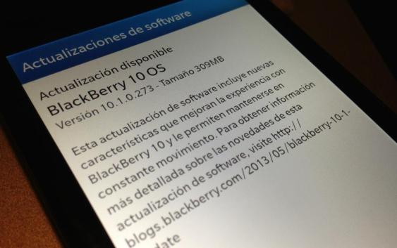BlackBerry 10.1 Disponible para la BlackBerry Z10 en Chile