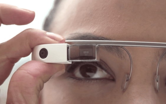 Google nos da una mirada de la interfaz de Google Glass