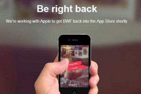 Mensaje para los usuarios de iOS