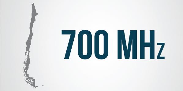 Chile: SUBTEL Informó que la licitación por la banda de 700 MHz será en Agosto