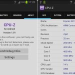 CPU-Z beta para Android ya está disponible en la Google Play