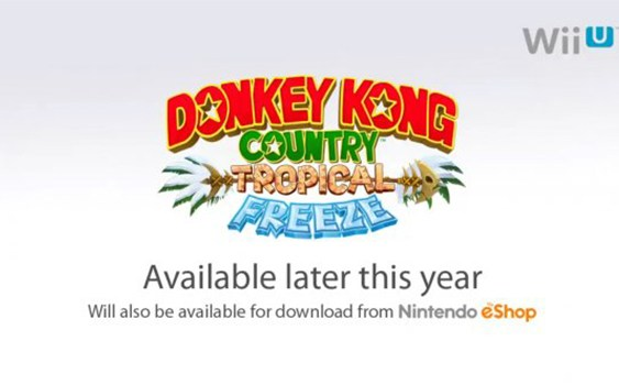 [E3:2013] Échale un vistazo a Donkey Kong Country: Tropical Freeze