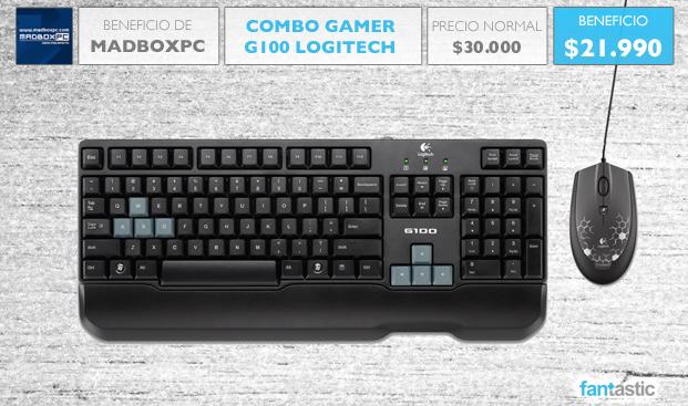 Combo Gamer Logitech a un precio exclusivo para MadBoxpc.com