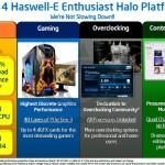 Haswell-E, la próxima plataforma entusiasta de Intel con soporte DDR4 y nuevo socket