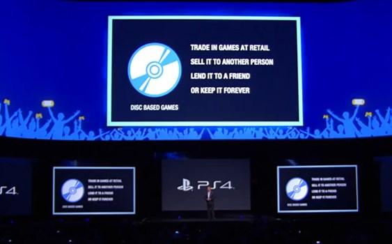 [E3:2013] Sony dejará la decisión de implementar DRM a los distribuidores third party