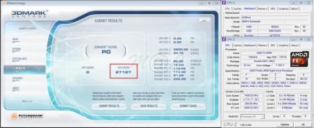 3dmark vantage CPU score