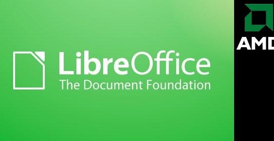 AMD se une a The Document Foundation para impulsar el desarrollo de LibreOffice