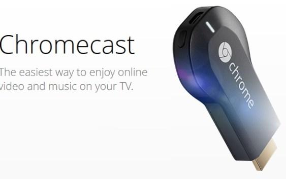 Google anuncia Chromecast para transmisión de contenidos on-line a la Televisión