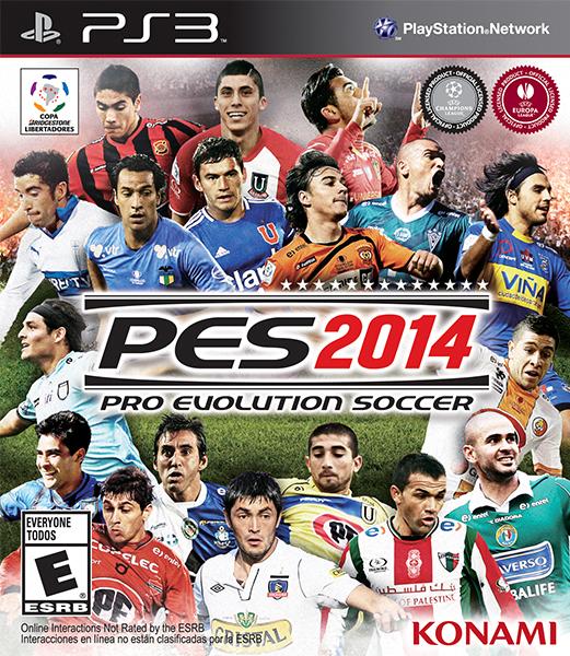 PES 2014 portada