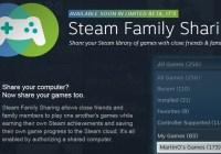 Valve anuncia Steam Family Sharing: El nuevo sistema de compartir videojuegos de Steam