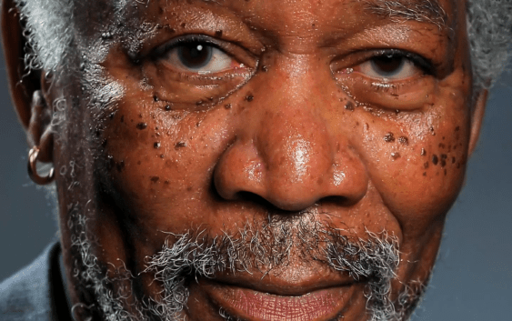 iPad Art: Esta no es una Fotografía de Morgan Freeman