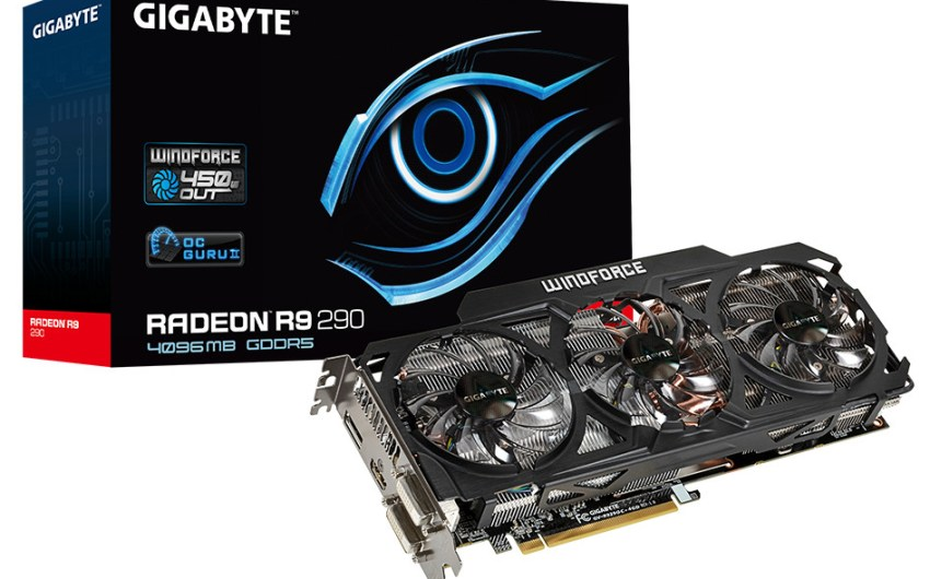 Gigabyte muestra su Radeon R9 290 OC con WinForce 3X