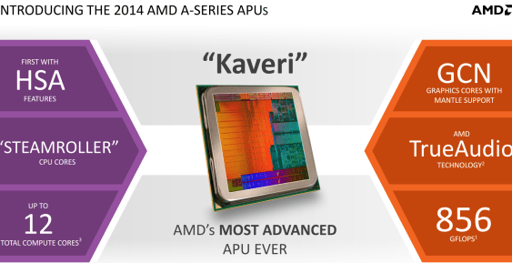 AMD lanza sus APU Kaveri: A10-7850K, A10-7700K y A8-7600 (Reviews)