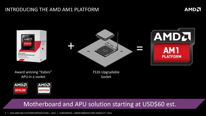 AMD anuncia su plataforma AMD AM1: APU Kabini en socket