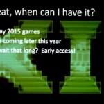 DirectX 12 preview a finales de año y versión oficial a finales de 2015.