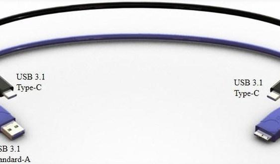 Preparan nuevo cable USB 3.1 con conector simétrico y capaz de transferir a 10 Gbps