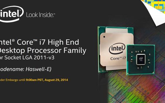 Intel lanza sus CPUs Intel Core i7-5000K series (Haswell-E) con soporte DDR4 (Reviews).