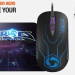 Steelseries presenta nuevos perifericos de Heroes of the Storm y su nuevo Mousepad DeX.