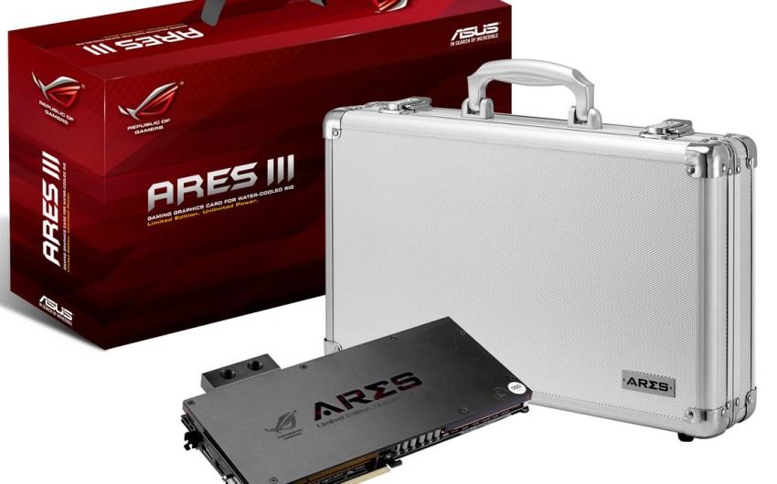 ASUS anuncia oficialmente su ASUS ROG Ares III (Dual Hawaii XT)