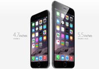 Apple anuncia el iPhone 6 Plus y iPhone 6