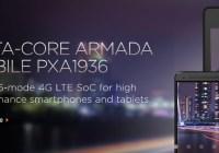 Marvell anuncia sus nuevos SoC Armada PXA1936 y PXA1908 de 64-bits