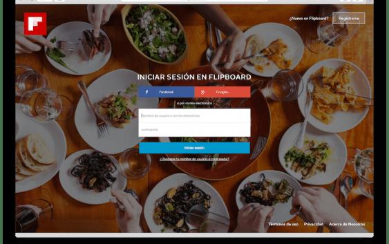 Flipboard finalmente lanza versión Web