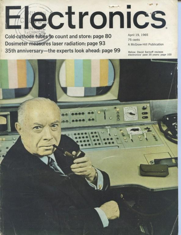 Portada de Electronics Magazine