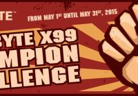 Atención Overclockers! Gigabyte Anuncia el X99 Champion Challenge
