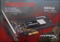 [VIDEO] Unboxing SSD HyperX Predator 480GB PCIe
