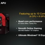 "AMD introduce su APU A8-7670K ""Godavari"" a tiempo para Windows 10"