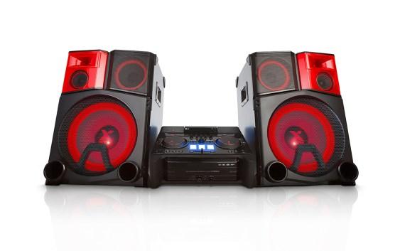 Nuevo minicomponente de LG Electronics: LG X-Boom Pro CM9950, un DJ en casa