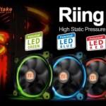 Thermaltake presentó sus nuevos Fans LED RGB para PC Thermaltake Riing