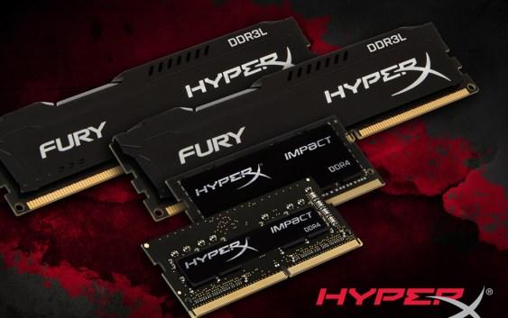 HyperX presentó nuevos integrantes a su familia FURY e Impact