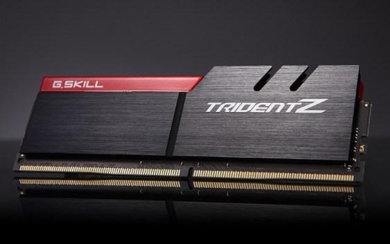 G.Skill lanza nuevos módulos DDR4 TridentZ de 8GB hasta 4133MHz