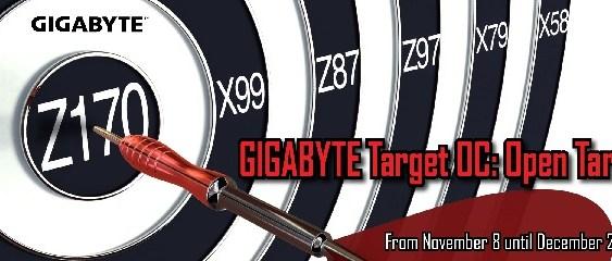 GIGABYTE Target OC: Ganadores del Concurso de Objetivos