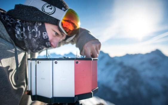 Xperia graba primer vídeo 360° del mundo en 4K con Z5 Compact