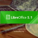 Ya está disponible LibreOffice 5.1 con un nuevo diseño de interfaz
