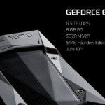 NVIDIA anuncia la GeForce GTX 1070 y será más rápida que la GeForce GTX Titan X