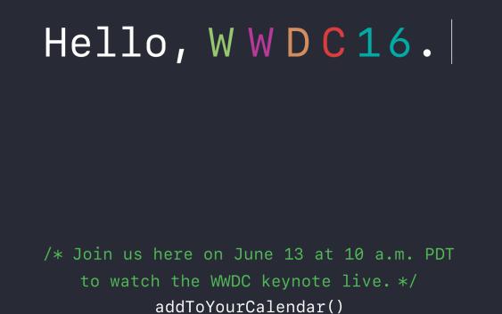 Apple transmitirá online la keynote del WWDC16 nuevamente