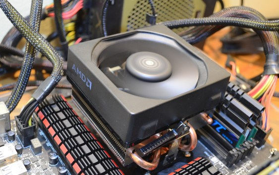 Review AMD FX-8370 con Wraith Cooler