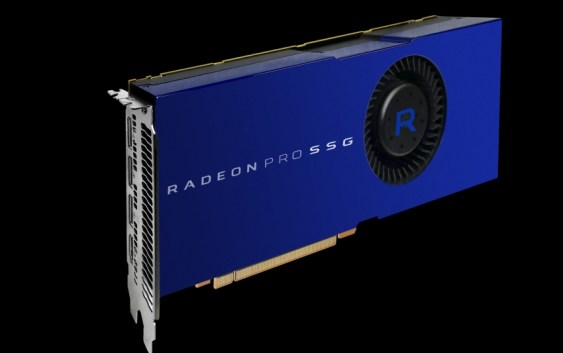 AMD anuncia la Radeon Pro SSG de 32GB: La primera tarjeta gráfica con SSD integrado