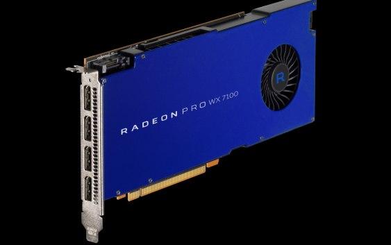 AMD anuncia sus Radeon PRO WX 7100, WX 5100, WX 4100 (Polaris) y Radeon ProRender