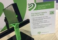 Seagate revela una Unidad de Estado Sólido (SSD) de 60 TB