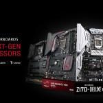 ASUS anuncia soporte para la próxima generación de procesadores LGA 1151