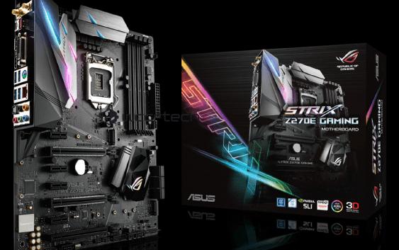 Leak: Filtrada la familia entera de placas madres Asus Z270 (LGA 1151) para CPUs Intel Kaby Lake